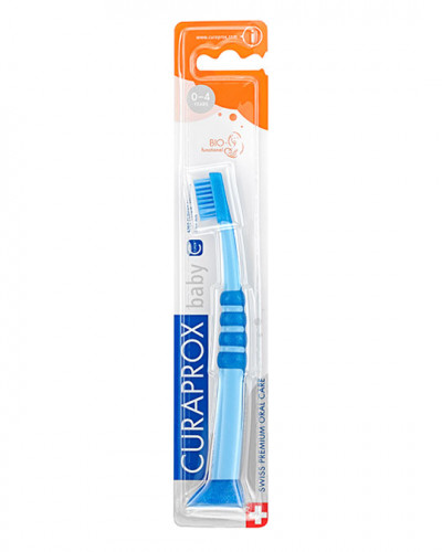 Baby Toothbrush, blue-blue